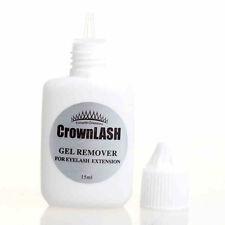 False Eyelash Glue Remover Extension Crown Gel Type Lashes 15 ml No Stimulation