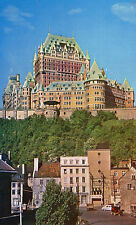 Postcard Canada  Chateau Frontenac ffrom Lower Town Quebec unposted