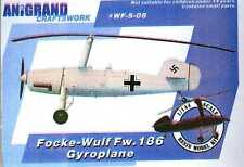 Anigrand 1/144 FOCKE WULF Fw-186 GYROPLANE Exclusive!