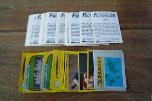 Panini Football 88 Stickers - VGC! - no's 201-400! Pick Any Stickers You Need!