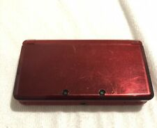 Red Nintendo 3DS Console Works Fine Moderately Used Video Games Mario Pokémon