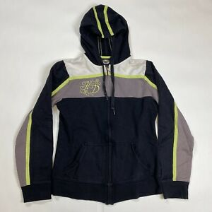 Harley Davidson Woman's Full Zip Hooded Sweater Size Small
