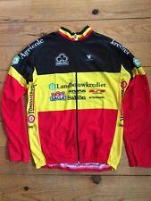New Team Landbouwkrediet Colnago Belgian Champ Cycling Men LS Jersey -  Sizes