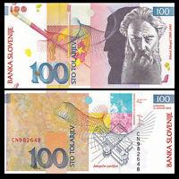 Slovenia 100 Tolarjev, 2003, P-31, UNC