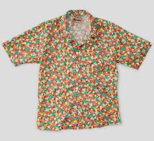 Nigel Cabourn Frankies Short Sleeve Shirt in Brown Various Sizes