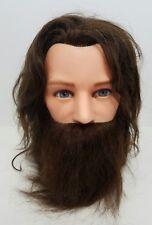 MISS AMERI-KIN Marianna 100% Human Hair Cosmetology Styling Mannequin Head