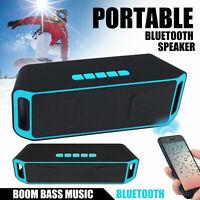 Portable Bass Loud Sound Speaker Wireless Bluetooth4.0 Stereo Waterproof Outdoor