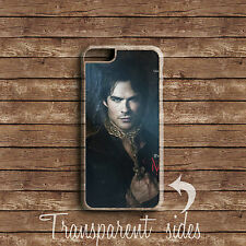 THE VAMPIRE DIARIES DAMON SALVATORE PHONE CASE COVER IPHONE AND SAMSUNG MODELS