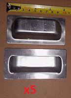 """25 pc Aluminum Spring Hinge to OPEN 3 x 1.06/"""" Craft//Cabinet//Door//Project//DIY Lot"""