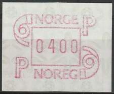 Noorwegen postfris automaatzegels 1986 MNH A3 (11)
