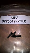 ABU CARDINAL 752,753,754,763 ETC SIDE COVER PLATE SCREW SET. APPLICATIONS BELOW.