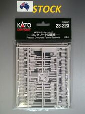 1 pack KATO 23-223 Precast Concrete Fence Sections(4 plates) for N model railway
