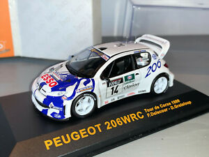 RALLY 1/43 VITESSE SKID ESSO PEUGEOT 206 WRC FRANCOIS DELACOUR CORSICA 1999 RARE