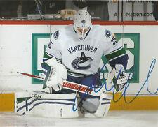 Vancouver Canucks Jacob Markstrom Signed Autographed 8x10 Photo COA C