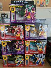 Transformers G1 RETRO HEADMASTERS Wave 1 2 Set Walmart Skullcrusher Highbrow