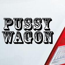 ADESIVI AUTO PUSSY WAGON TUNING Style Sexy FUN DUB OEM JDM Adesivo Western 006