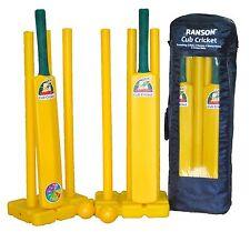 Cub Cricket Doubles Set, Bat, Balls, Stumps, Plastic, Junior