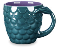 Disney Parks The Little Mermaid Fin Coffee Mug New