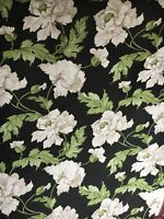 """sanderson fabric curtain Upholstery material""""CHARLBURY""""Linen,In 3m Pieces £39.99"""