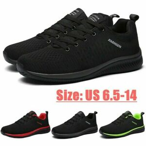 Men's Fashion Running Shoes Outdoor Casual Athletic Tennis Non-slip Sneakers Gym