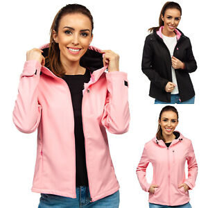 Softshelljacke Übergangsjacke Sweatjacke Jacke Soft Shell Damen BOLF Unifarben