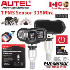Autel MX-Sensor 315MHz Programmable Universal For Most Cars TPMS Sensor Replace