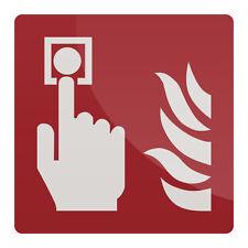 Fire Alarm Call Point symbole signe 150 x 150 mm signalisation de sécurité signalisation rigide