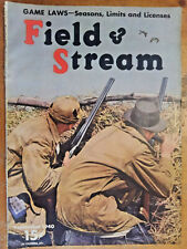 Field and Stream Back Issue: September, 1940