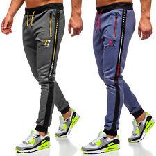 Sporthose Jogginghose Trainingshose Hose Fitness Print Sport Herren BOLF Motiv