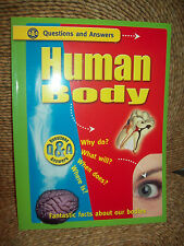 """Q & A """"HUMAN BODY"""" - FANTASTIC FACTS ABOUT OUR BODIES BY DIANE STEPHENS"""