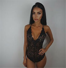Sexy Women's Lace Lingerie Nightwear Underwear G-string Sleepwear Dress Bodysuit