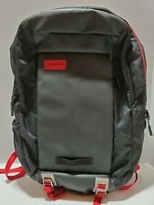A1 Timbuk2 Parkside Backpack - Black / Crimson - Pre OWNED - GREAT CONDITION
