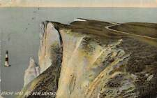 Beachy Head and New Lighthouse Phare Cliff Headland (East Sussex) 1910