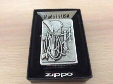 More details for zippo lighter resting cowboy stunning lighter.