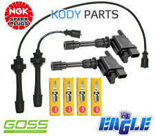 IGNITION LEADS, COILS, SPARK PLUGS - for Mazda 323 SP20 2.0L (FSZE engine)