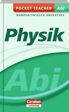 Pocket Teacher Abi Kompaktwissen Oberstufe Physik Cornelsen