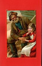 TUCK Calendar series 3423 Mr Peggotty and Little Em'ly