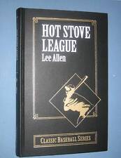 Lee Allen  *  THE HOT STOVE LEAGUE  *  limited edition