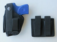 Hip Holster and Double Magazine Pouch Combo RUGER LCP 380 Pistol without Laser