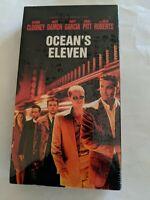 Ocean's Eleven - George Clooney, Brad Pitt, Damon VHS Brand NEW.