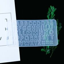 Silikonform Buchstaben Zahlen Mold Harz Resin  Abformen Gießen Seife Formen