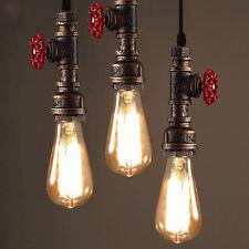 Industrie Wasser Rohr Pendelleuchte Hängeleuchte Lampe Leuchte einstellbar Halle