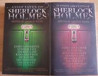 Signed Further Associates of Sherlock Holmes George Mann Paperback lovegrove