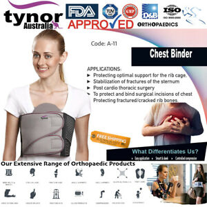 Tynor™ Chest Binder Broken Rib Brace for Cracked, Fractured or Dislocated Ribs