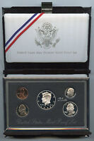 1998 Premier Silver PROOF Coin Set - United States Mint Official - Authentic