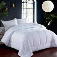 All Season Ultra Soft Comfort Down Alternative Reversible Duvet Comforter Quilts