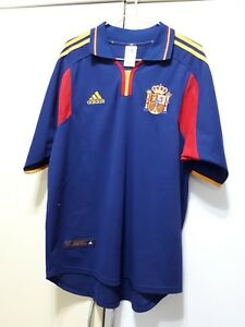 Spain National Football Team Away 00/01 Jersey, Size: M, Very Good condition