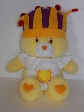 "Play Along 2004 Singing Care Bear 15"" King Funshine Bear Plush Rare"