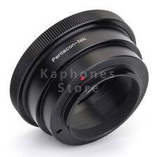 Adattatore obiettivo per Kiev 60 Pentacon Six obiettiva di Nikon d800 d700 d5100 d90