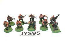 Warhammer Imperial Guard Catachan Jungle Fighters WIth Missile Launcher - JYS95